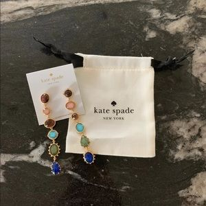 "Kate spade new ""perfectly imperfect"" earrings"